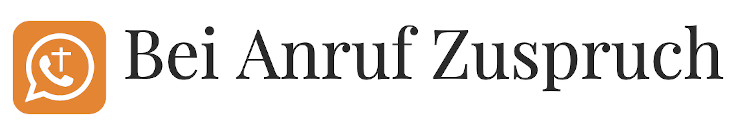 Bei Anruf Zuspruch Logo